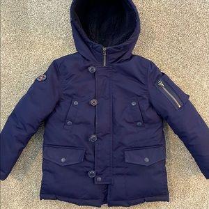 ⭐️Polo Ralph Lauren boy's navy down parka coat 6